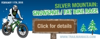 Silver mountain Snowshoe/ Fat bike race